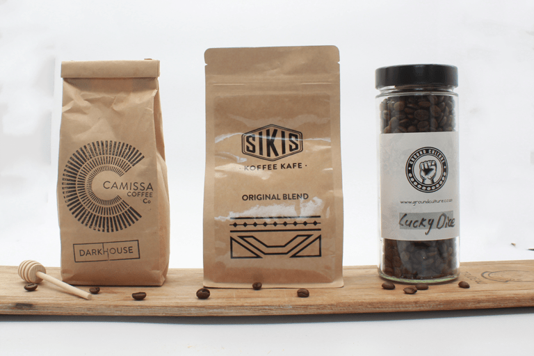Different coffee that can be bought online in Cape Town