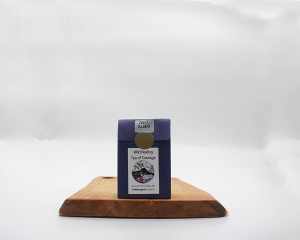Wild Tea of courage artemisia afra with mint